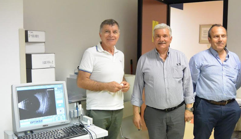 Nuove attrezzature per l'oculistica all'ospedale Umberto I di Enna
