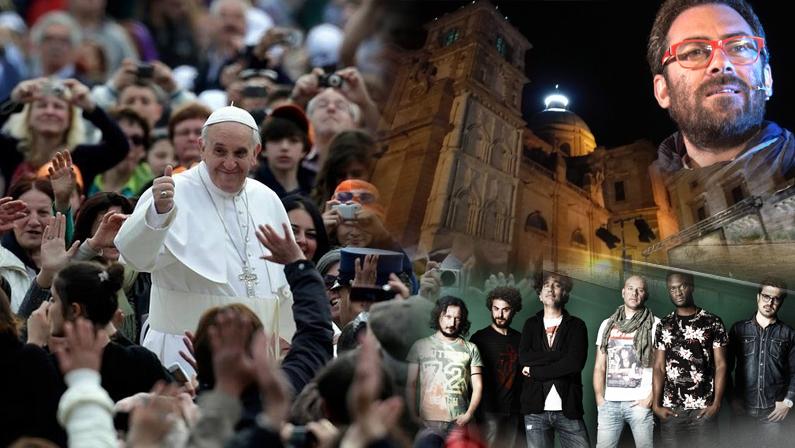 Iniziative per l'arrivo del Papa – Un festa per i giovani. Tinturia e Mario Incudine tra gli ospiti?