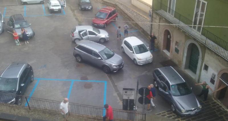 Piazza Armerina – Problemi per gli automobilisti che parcheggiano al piano Arcurio