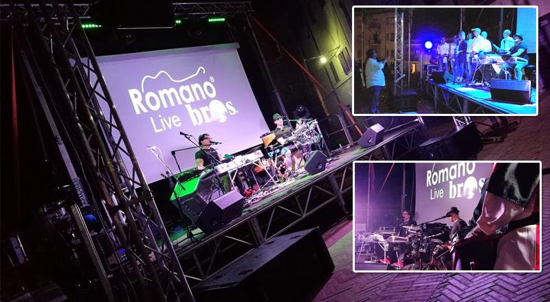 """I Romano Bros: """"riscoperto l'amore per Piazza Armerina"""". Un lungo brano ricostruisce la storia della città."""
