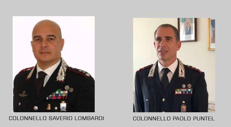 Cambio al vertice nel comando provinciale dei carabinieri.