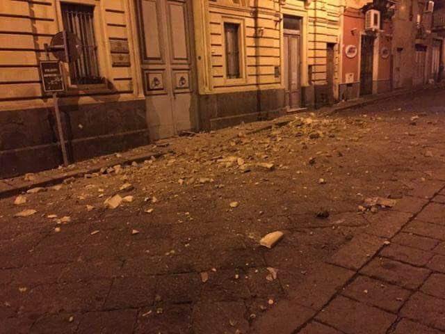 Forte scossa di terremoto tra Adrano – Biancavilla – Santa Maria di Licodia alle ore 2.34  (4.8)