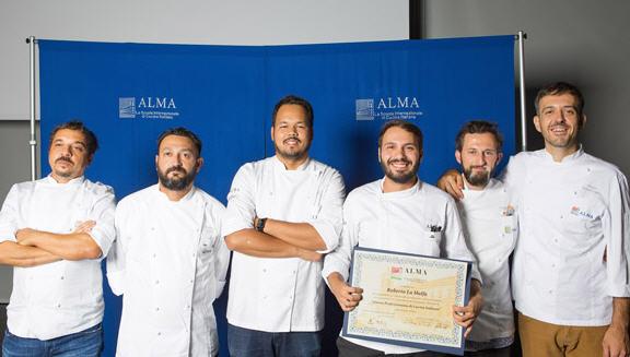 Eccellenze piazzesi:  Roberto La Malfa cuoco professionista