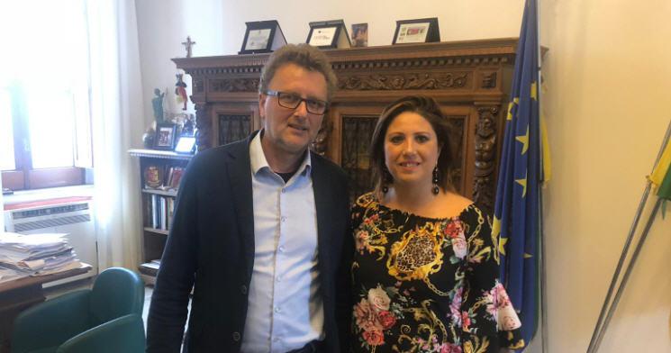 Valguarnera, Conferimento rifiuti: il sindaco Francesca Draià incontra alcuni sindaci