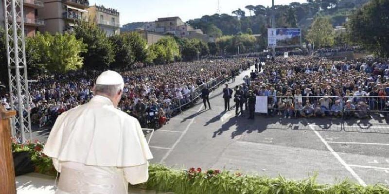 Visita di Papa Francesco a Piazza Armerina: riconoscimenti alla PS e alla Polizia Locale