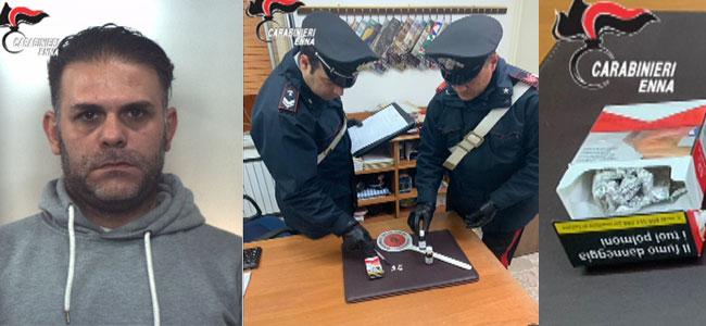 Centuripe: 4 dosi di eroina e di metadone. Carabinieri arrestano presunto spacciatore