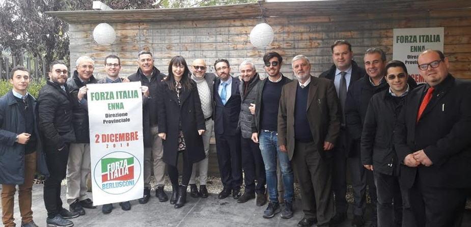 Riunita a Leonforte la direzione provinciale di Forza Italia.