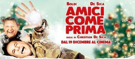 """PIazza Armerina – Al cine-teatro Garibaldi """"Amici come prima"""" con Boldi e De Sica"""