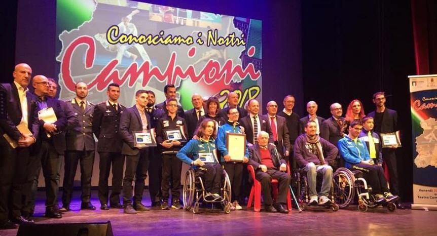 """Al teatro Garibaldi di Enna la seconda edizione di """"Conosciamo i nostri campioni"""""""