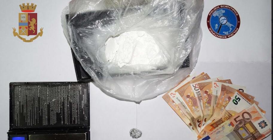 Arrestato per droga a Valguarnera un operaio di 33 anni incensurato