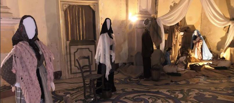 """Enna. Un presepe molto particolare nella chiesa di san michele arcangelo: """"Natale a Castrogiovanni""""."""