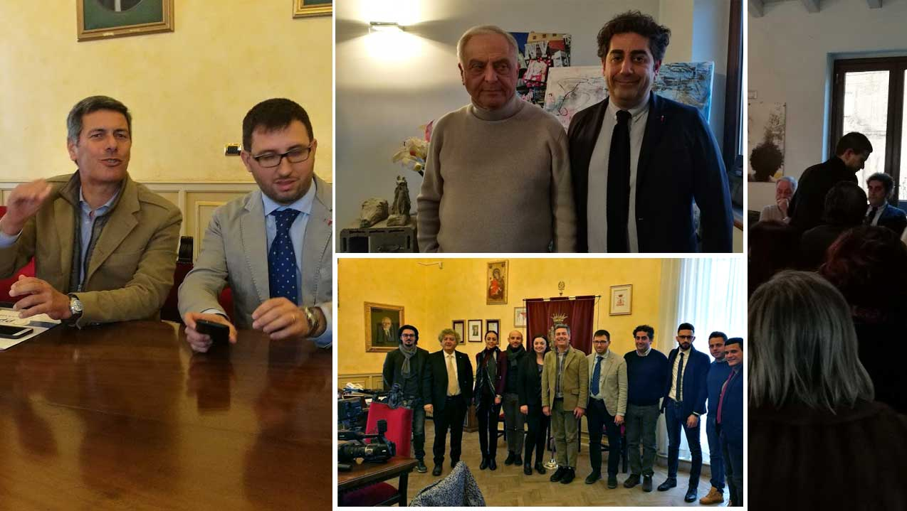 L'on. Di Mauro(MPA) e l'eurodeputato La Via(PPE) a Piazza Armerina. L'assessore Messina aderisce all'MPA.