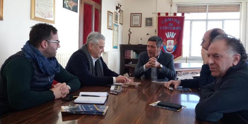 Visita in provincia dell' Eurodeputato Giovanni La Via