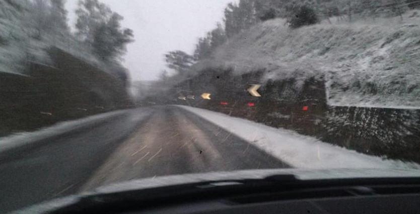 Maltempo: neve, la situazione delle strade in provincia