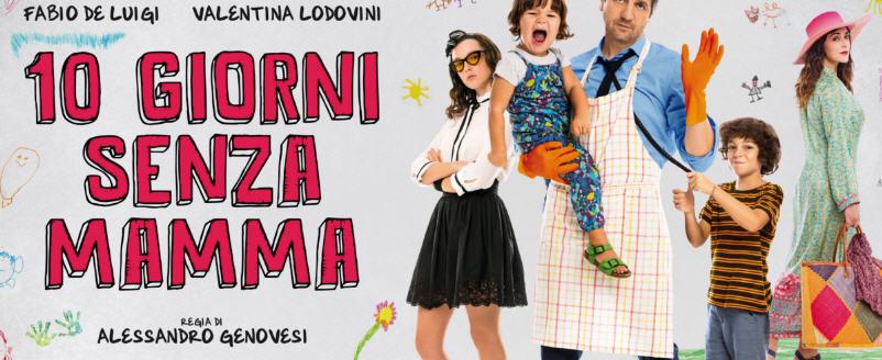 """Piazza Armerina – Al cine-teatro Garibaldi dal 15 al 19 febbraio il film """"10 giorni senza mamma"""""""