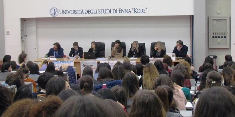 All'Università Kore di Enna Seminario dedicato alla Risorsa Idrica