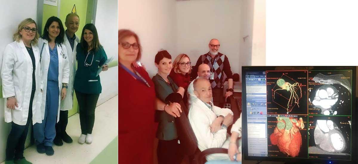 ASP Enna. Presso l'Ospedale Umberto I, attivo il servizio di Cardio Tac