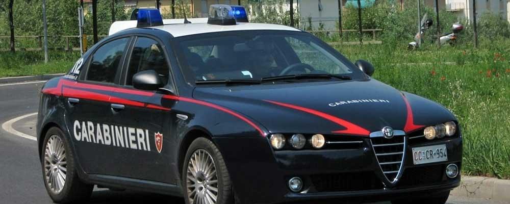 Centuripe, palermitani in trasferta per furti. Arrestati dai Carabinieri due operai incensurati.