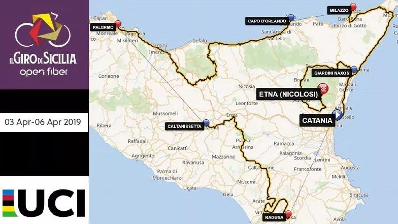 Ritorna una grande classica di ciclismo: il Giro di Sicilia passerà anche da Piazza Armerina