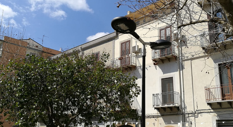 """Piazza Armerina, cambia l'illuminazione al generale Cascino. Arriva la """"luce calda"""""""