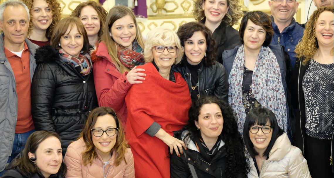 Un grande successo il concerto di Francesca Incudine sabato sera a Piazza Armerina