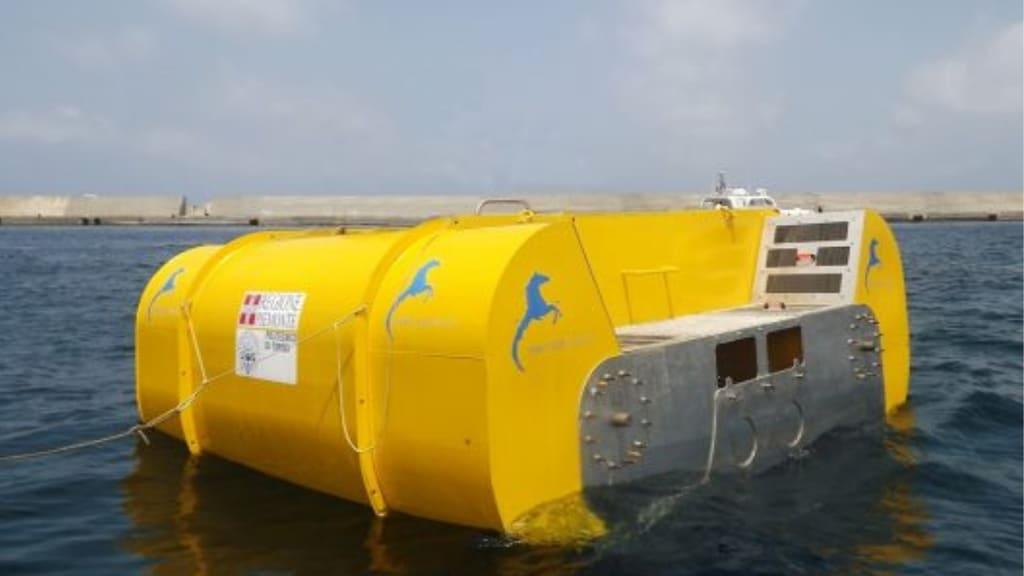 L'energia elettrica generata dal mare è arrivata in Italia