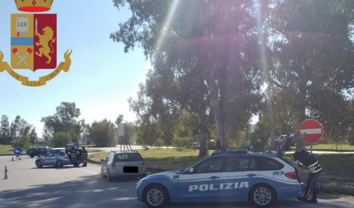 Autostrada A19 : controlli serrati della polizia stradale.115 punti decurtati