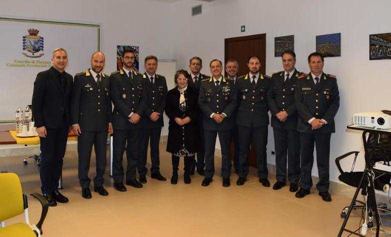 Il Prefetto di Enna in visita al Comando Provinciale della Guardia di Finanza