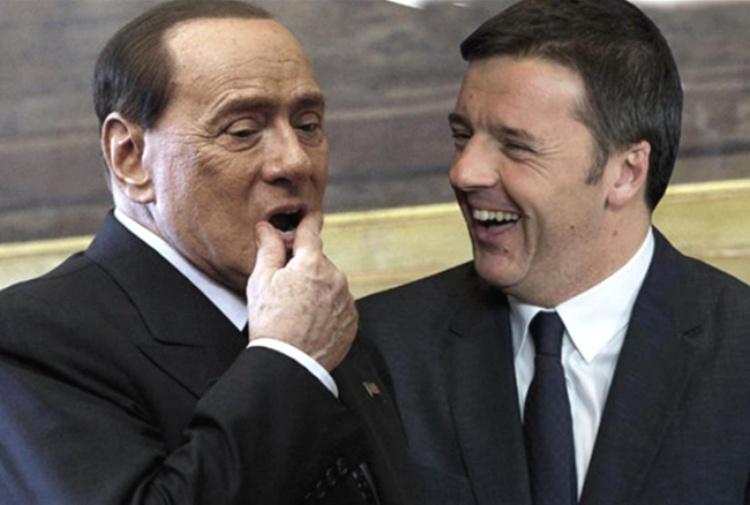 Le vite parallele di Berlusconi e Renzi