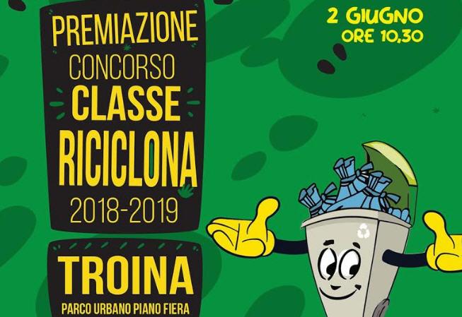"""Troina – Domenica 2 giugno la premiazione del concorso """"classe riciclona 2018/2019"""""""