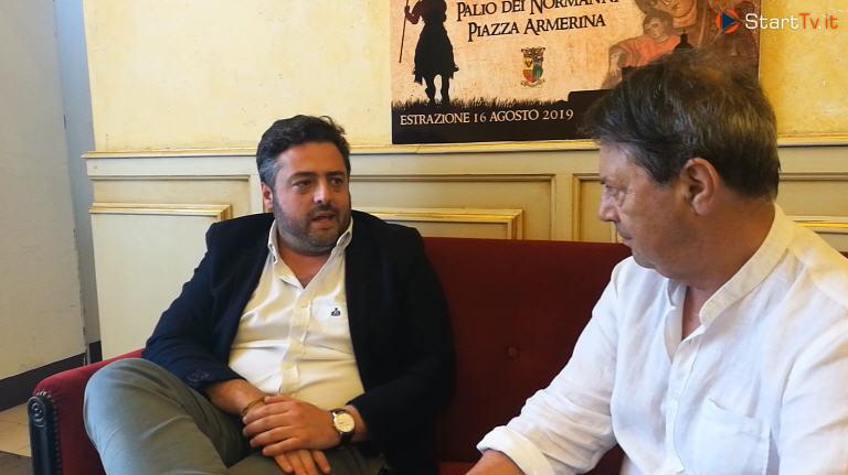 [VIDEO] Intervista a Nino Cammarata sindaco di Piazza Armerina.