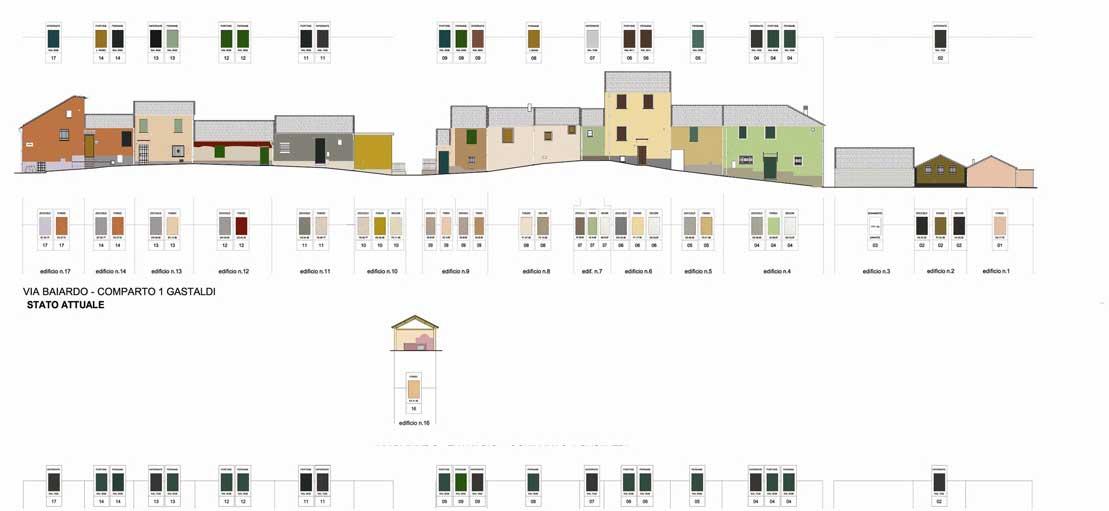 """Troina – Nuovo """"piano del colore"""" per gli edifici del centro storico"""