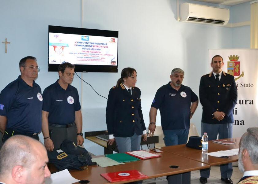 Enna – Corso Istruttori BLSD e PBLSD per sanitari della Polizia di Stato.