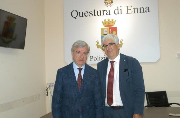 Enna – Insediamento del nuovo dirigente della divisione polizia amministrativa,sociale e immigrazione