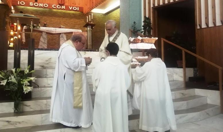 Visita del vescovo di Nicosia all'Irccs Aasi Aaria SS. di Troina