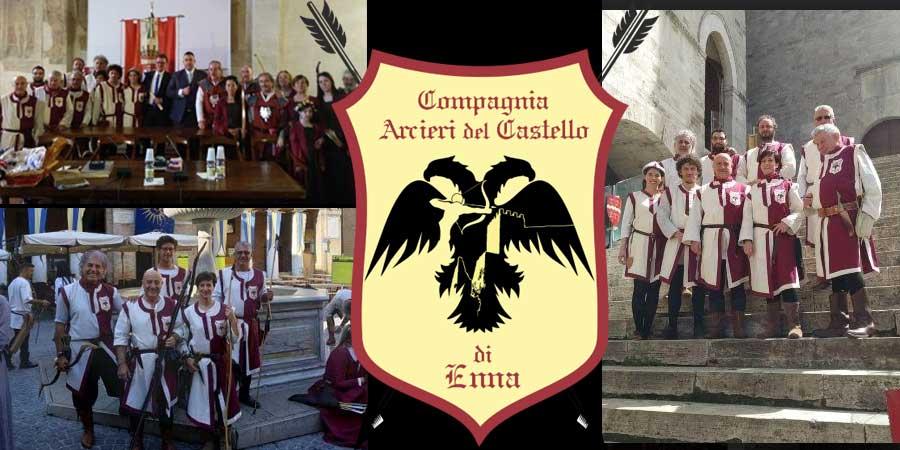Enna – La compagnia Arcieri del Castello ad una manifestazione nazionale di arco storico a Todi