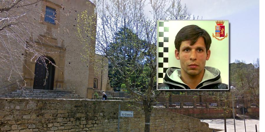 Piazza Armerina – Ricercato dalla polizia mendicava davanti alla chiesa di San Pietro. Arrestato.