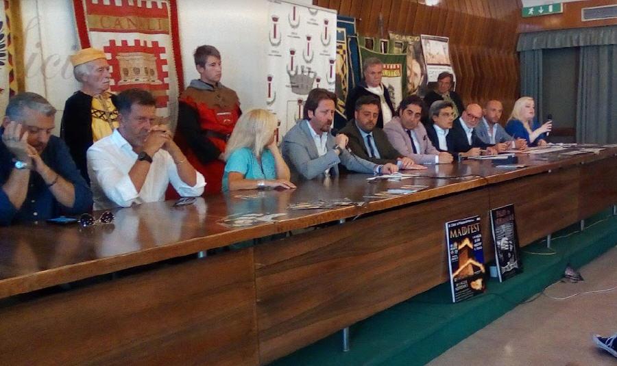 Presentato ufficialmente a Catania il Palio dei Normanni, il MadFest e il cartellone estivo degli eventi.