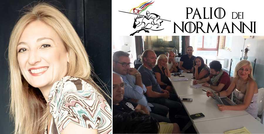 Gisella Calì: una regista per il Palio dei Normanni