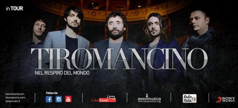 I Tiromancino giorno 30 agosto a Piazza Armerina