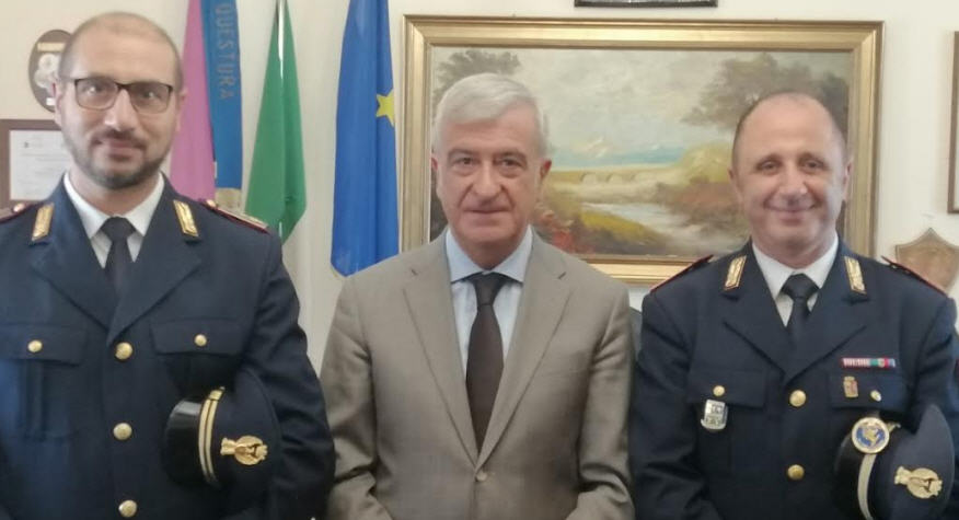 Assegnati nuovi Vice Ispettori alla Questura di Enna ed alla Sezione Polizia Stradale di Enna.
