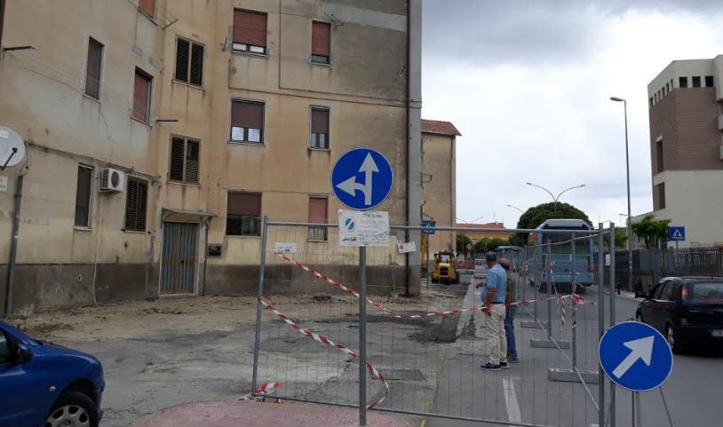 Enna – Avvio lavori di sistemazione urbana dell'area delle palazzine a stella