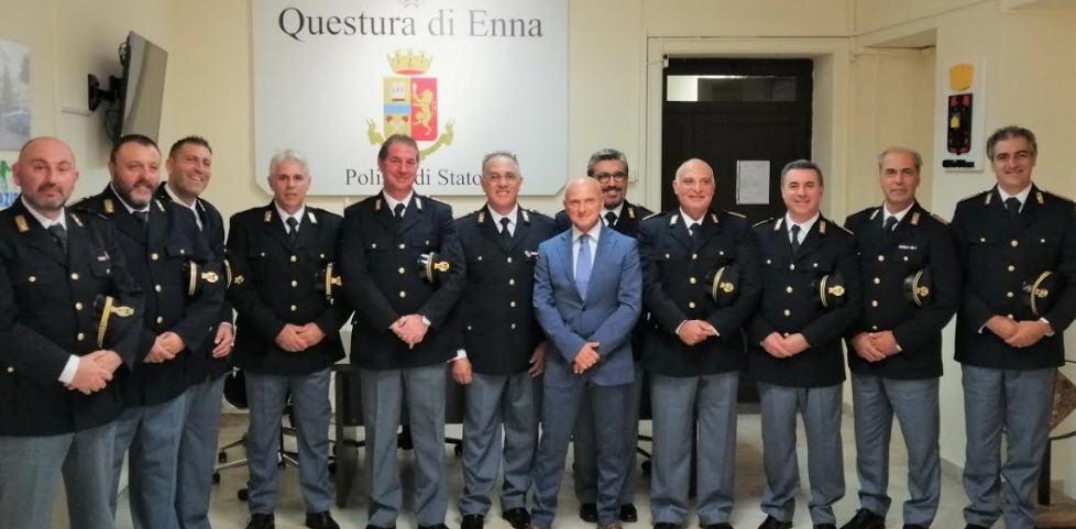 Ad Enna 12 nuovi vice Ispettori della Polizia di Stato.