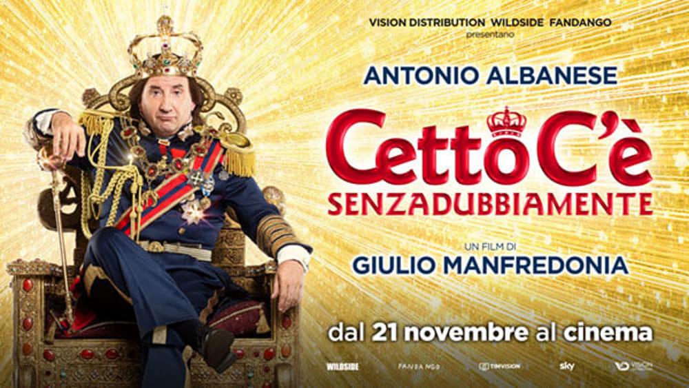 """Al Cine-teatro Garibaldi di Piazza Armerina l'ultimo film di Antonio Albanese """"Cetto c'è, senza dubbiamente"""""""