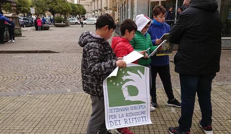 Enna: Scuola Santa Chiara sensibilizza sulla riduzione dei rifiuti