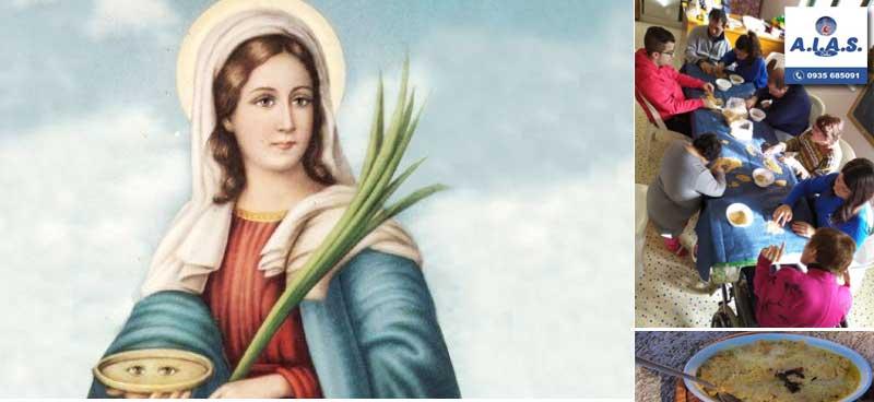 l'AIAS di Piazza Armerina festeggia il giorno dedicato a Santa Lucia