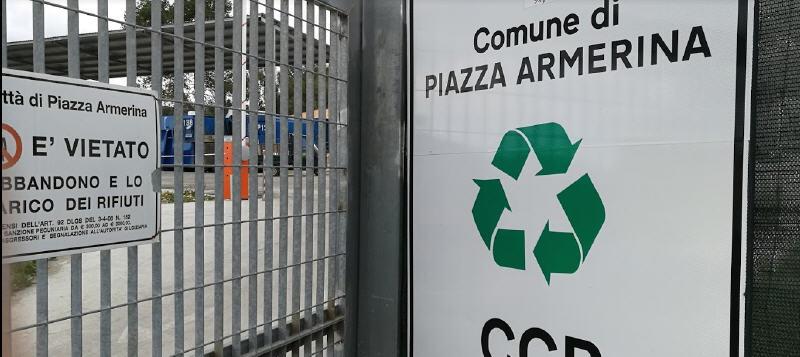 Piazza Armerina, rifiuti – Ampliamento del centro di raccolta comunale: un passo avanti