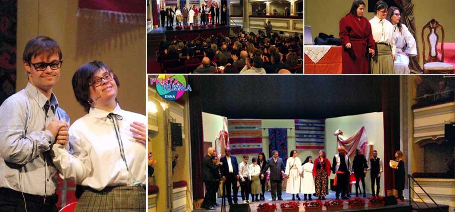 Enna – Successo per La famiglia La Tuma, la commedia portata in scena dagli ospiti del centro FreeSTigmaLab