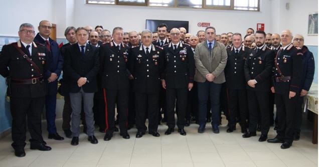 Il Comandante della Legione Carabinieri Sicilia in visita al Comando Provinciale di Enna