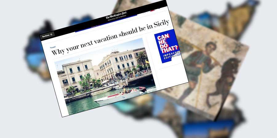 """Il Washington Post inserisce la Villa romana del Casale tra le mete da visitare in Sicilia. Ma consiglia: """"Non fate battute sulla mafia"""""""